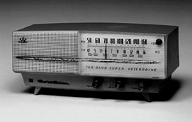 Goldstar produces the first Korean radio, A-501, bearing its trademark, Goldstar